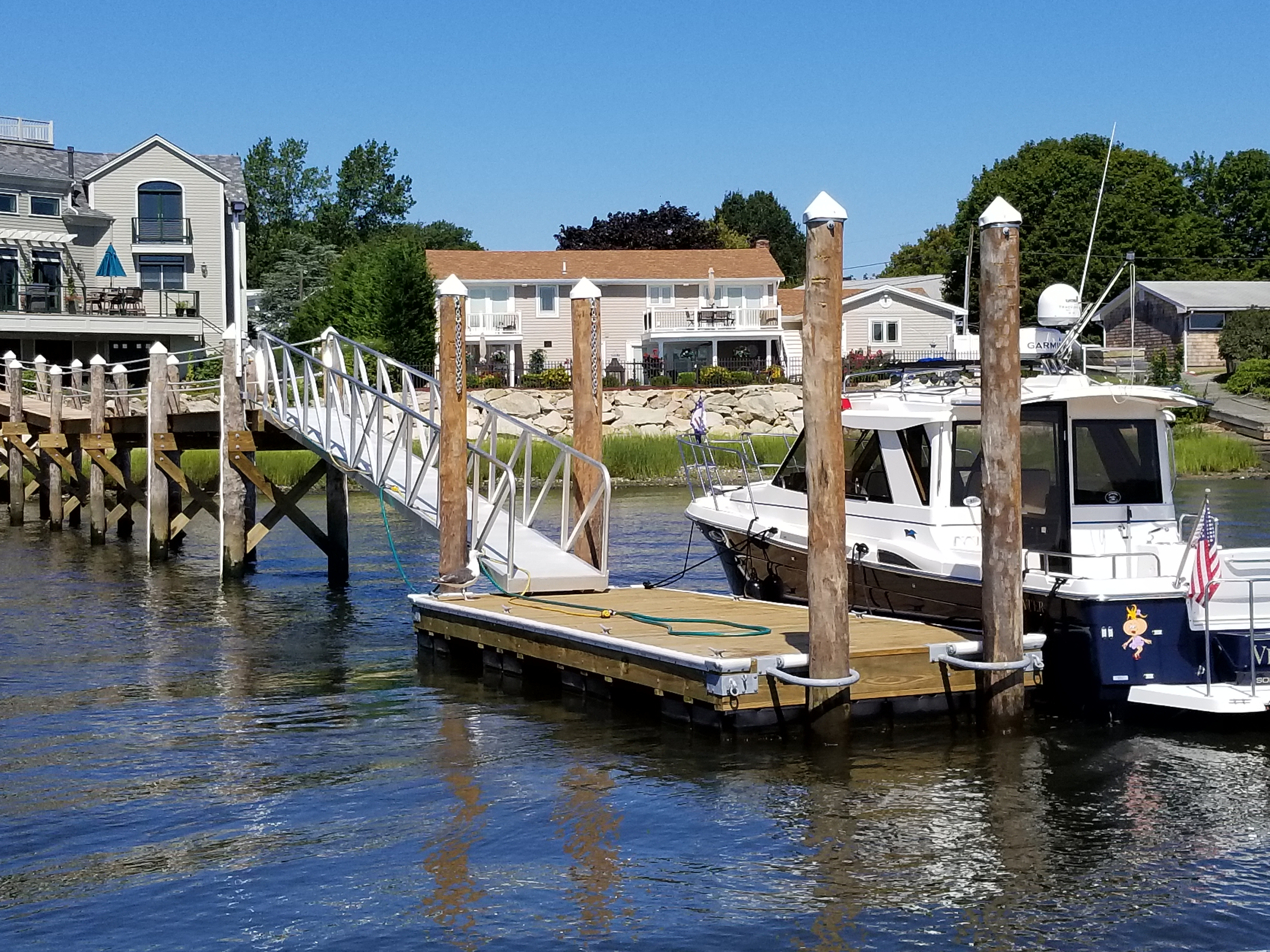 New residential dock - Somerset MA
